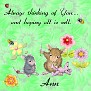 Ann  Sew thinking of you