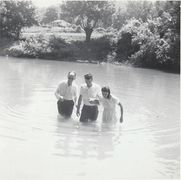 Old Country Baptizing, copied from FACEBOOK by Benny Ellis