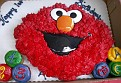 Andrew's Elmo cake for turning one year old
