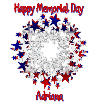 Adriana-gailz-Memorial Day stars