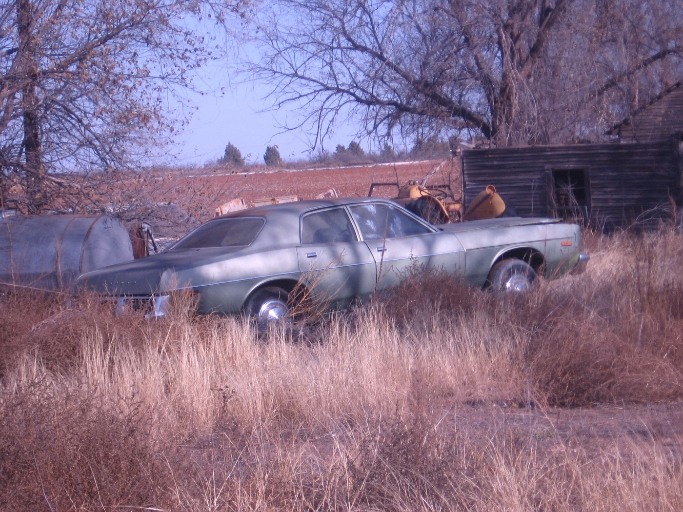 TX - Unknown, possible NM car