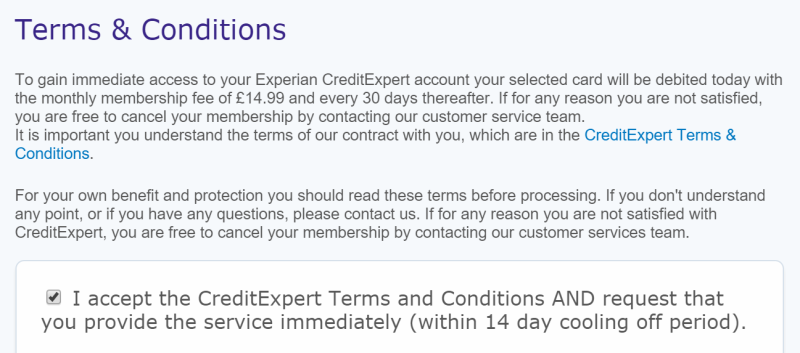 how to cancel my experian membership account