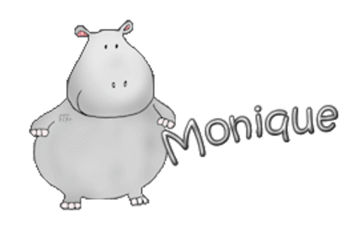 Monique - CuteHippo2018
