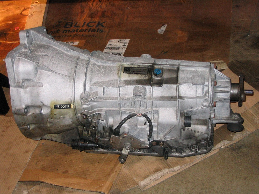 Fs Zf 5hp19 Transmission 75kmiles Reman By Bmw