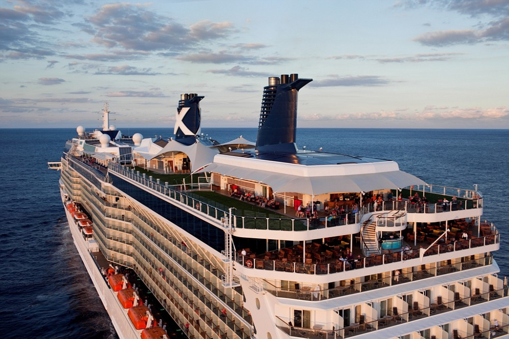 Aerial Celebrity Solstice Class