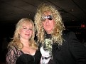 Dee Snider stops to visit with friends