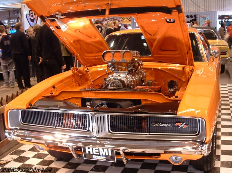 Dodge Charger -69, Hemi & Blower