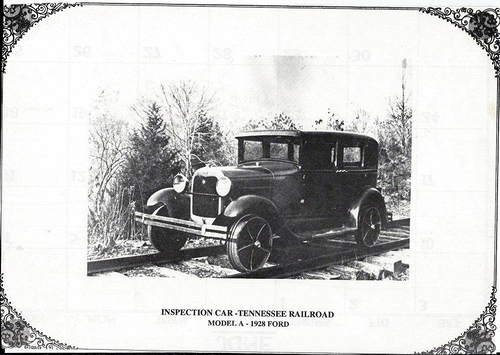 Rail Road Superintendent's Model A, 1928 Ford