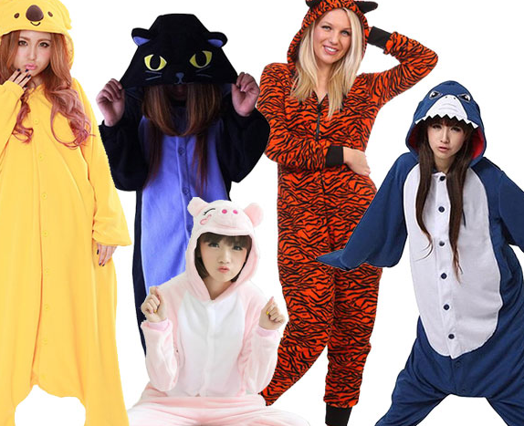animal adult onesies