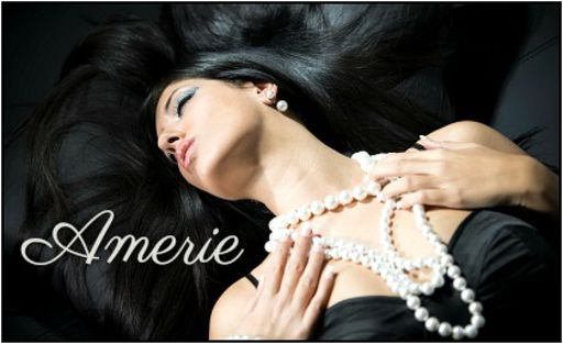 Glamour portrait of beautiful woman with pearl accessories