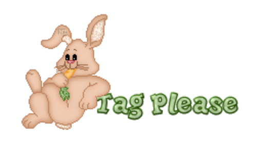 Tag Please - BunnyWithCarrot