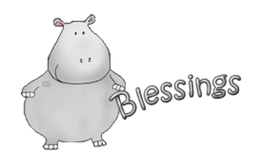 Blessings - CuteHippo2018