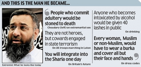 Sharia for UK leader Anjem Choudary