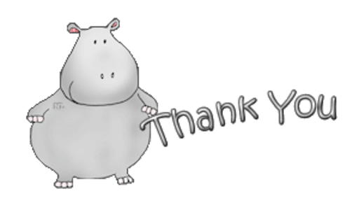 Thank You - CuteHippo2018