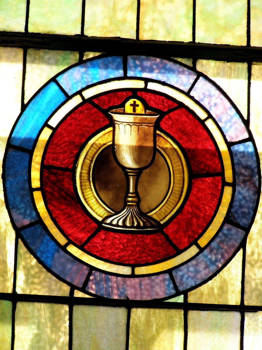 MYSTIC - SAINT PATRICK CHURCH - STAINED GLASS - 17