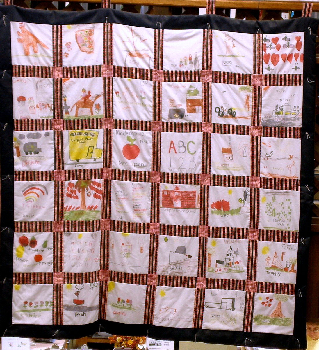 GALES FERRY - GALES FERRY LIBRARY - QUILT - 03