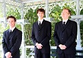 The boys...they all looked like CIA  that day...