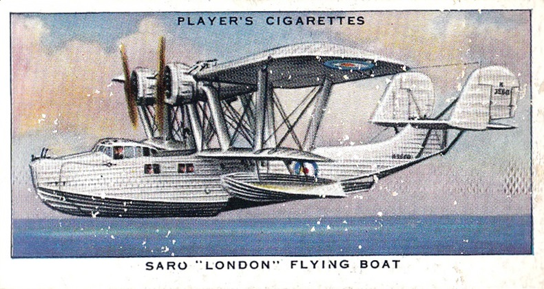 1938 Player Aircraft of the Royal Air Force #29 (1)