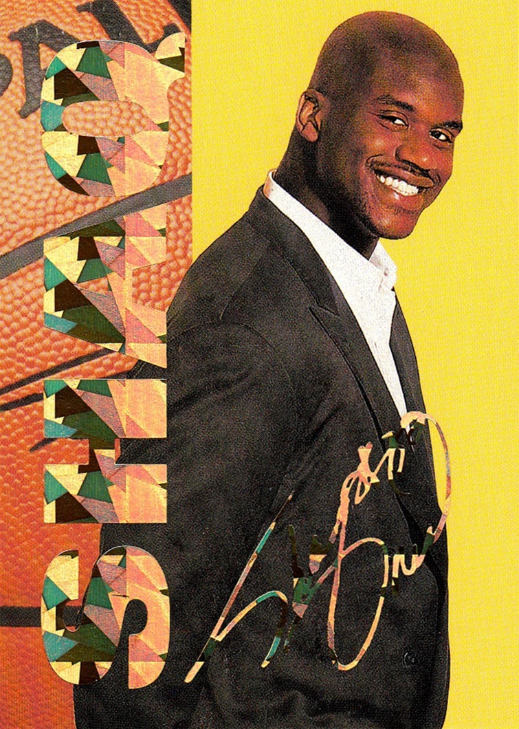 1993-94 Arena Sports Shaquille O'Neal (1)