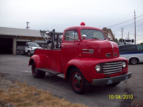 1951 ford coe tow - photo #19