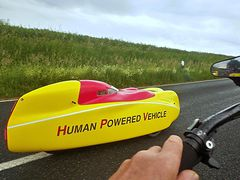 Human Powered Vehicle en route