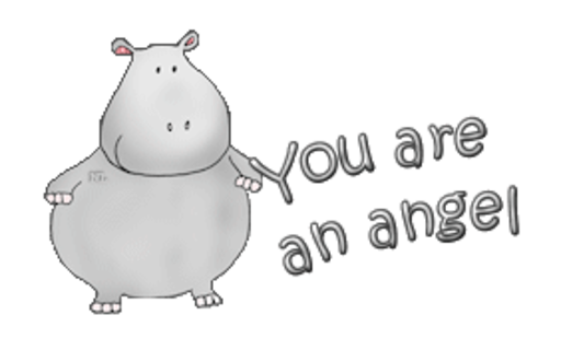 You are an angel - CuteHippo2018