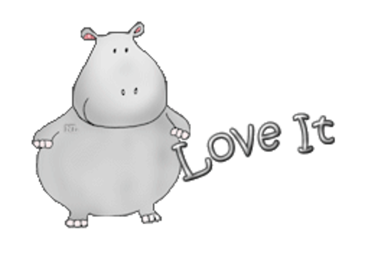 Love It - CuteHippo2018