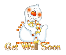 Get Well Soon - CandyCornGhost