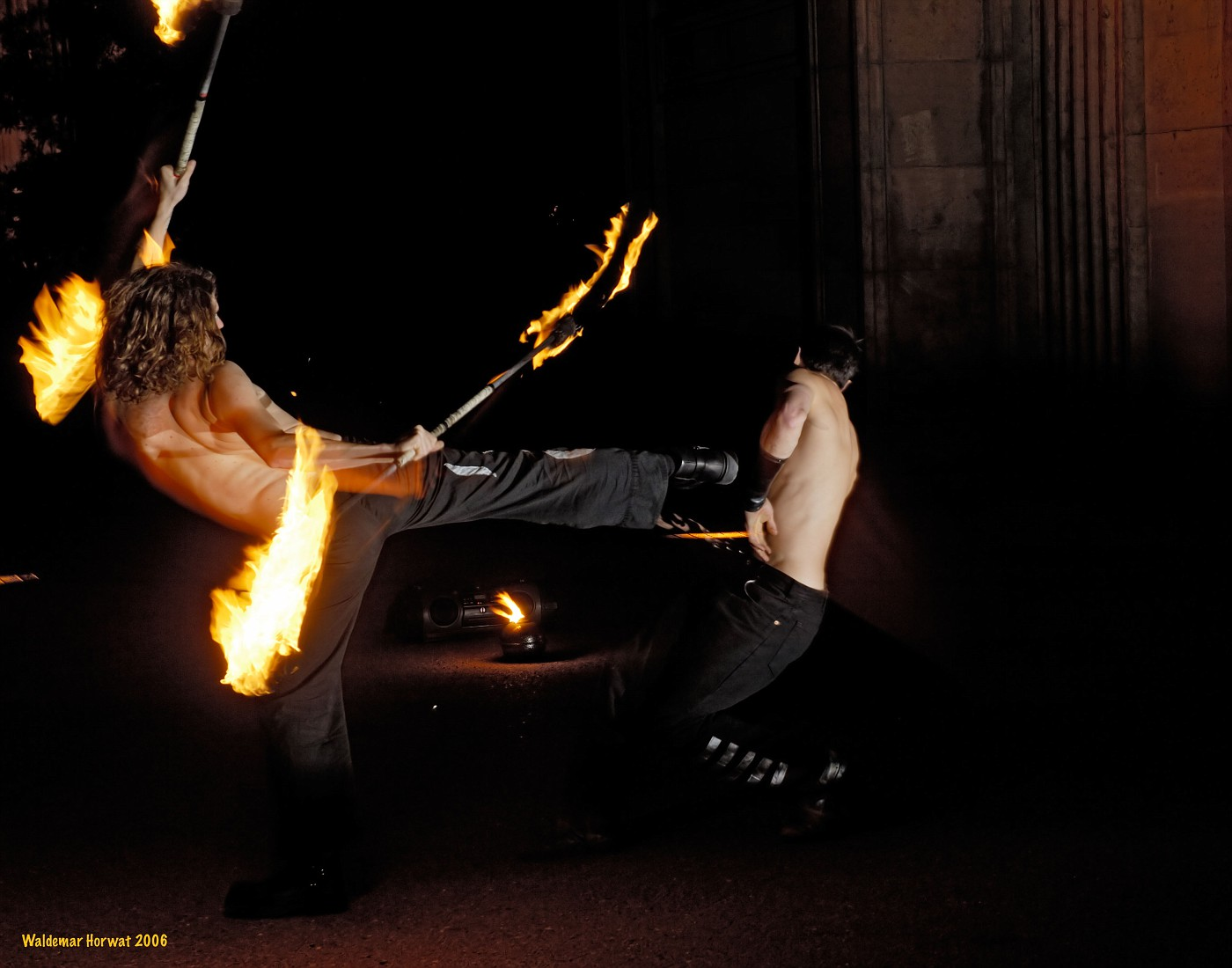 Fire Dancer Kick