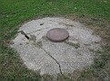 Septic Tank Cleaning Project / Top of Septic Tank.