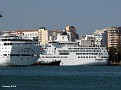 SEABOURN ODYSSEY LOUIS MAJESTY GRAND CELEBRATION HAPPY DOLPHIN Piraeus PDM 20110627 001