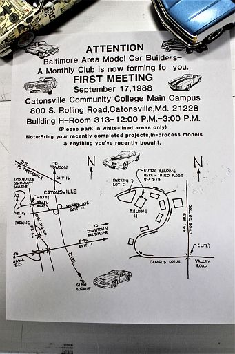 Flier for our very first meeting.