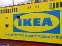 Red Osprey in IKEA Livery