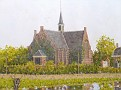 036 panorama the green church from Oestgeest