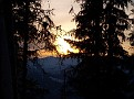 Sunset on the trail back