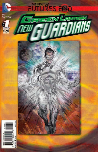Green Lantern New Guardians Futures End