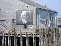 picture of local Portugese matriarchs on this dock building