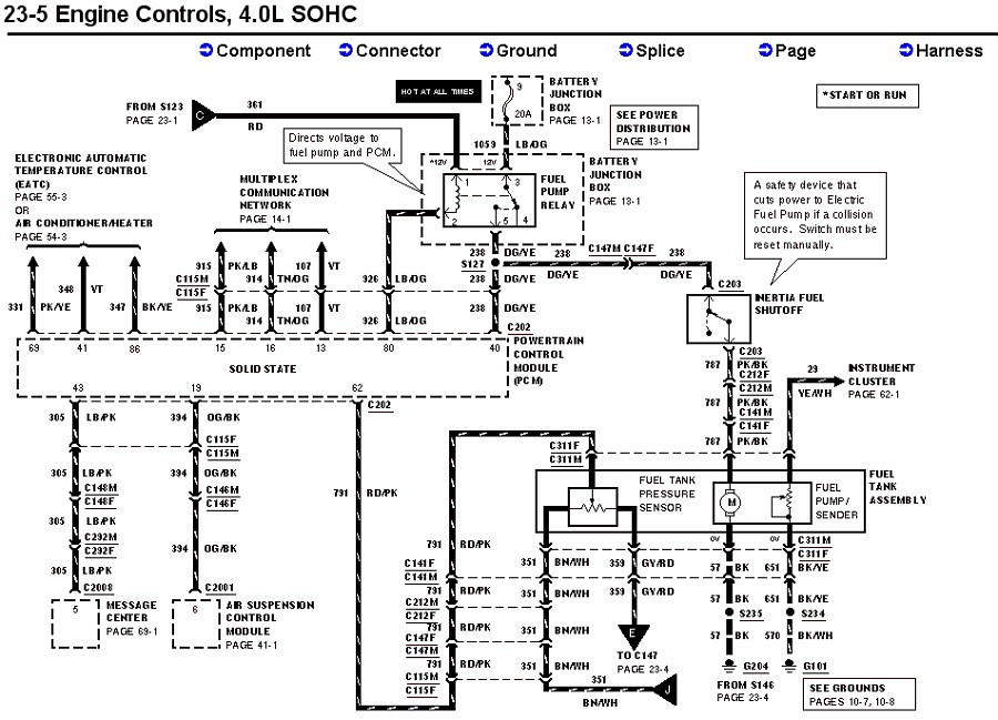 1997 mercury sable fuel pump wiring diagram with 2002 Ford Explorer Fuel Pump Wiring Diagram on RepairGuideContent besides V6 V8 Tach Ground Wire 107127 additionally Volvo 760 Vacuum Diagram also Pontiac Sunfire Blower Motor Location in addition Ford V10 Firing Order Diagram.
