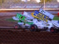 Steve Kinser leads heat two 005