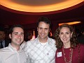 Microsoft's Aaron Painter, his boss and Courtney