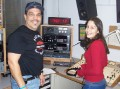 Guillermo Gonzalez (Friday 8-10pm) & daughter Bianca