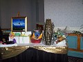 Art Table for the Silent Auction.