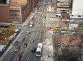 Aerial view of York avenue.