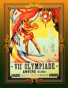 1992 Collect-A-Card Oversize Olympic Posters #TSC-07 (1)