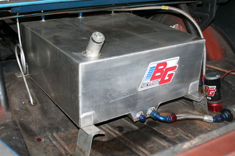Fuel Cell Mounting Nhra