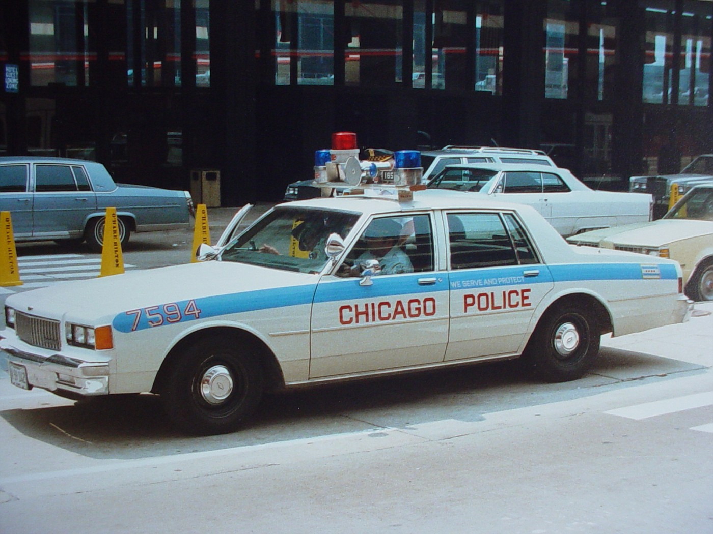 1986 Caprice O'Hare Airport car