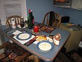 "Setting the Table for Myself and Preparations for my ""Haggis"" dinner!!!"