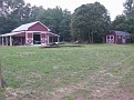 The barn that I built around 1998.