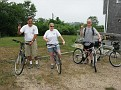 Visiting Friends Going out for a bike ride around Block Island.  Ken and Elizabeth lead the way!!!