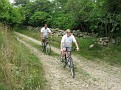 Going out for a bike ride around Block Island.  Ken and Elizabeth lead the way!!!